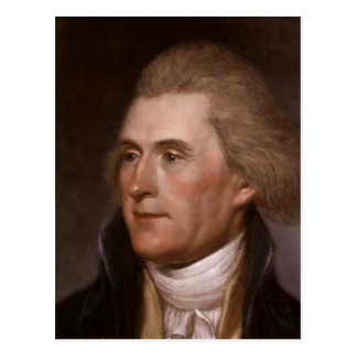 President Thomas Jefferson Briefkaart