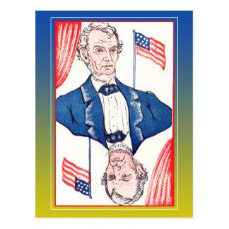 President van Vlaggen - Abraham Lincoln Briefkaart