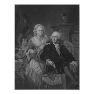 President Washington thuis Poster