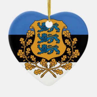 Presidentieel Estland, Estland Keramisch Hart Ornament
