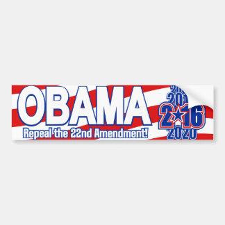 Presidentiële Verkiezing 2016 Obama Bumpersticker