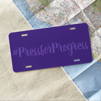 #PressforProgress de Dag van Internationale Nummerplaat