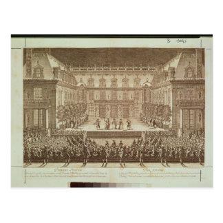 Prestaties van de opera 'Alceste Briefkaart
