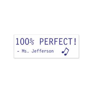 """Pret """"100% PERFECTIONEERT!"""" + De RubberZegel van Zelfinktende Stempel"""