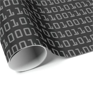 Pret en het Koele Patroon van de Binaire Code van Inpakpapier