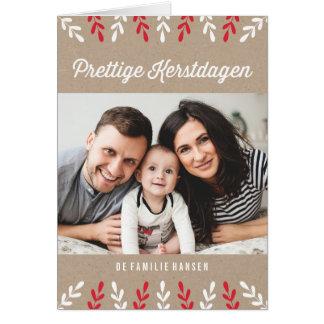 Prettige Kerstdagen | Kerstkaart Briefkaarten 0