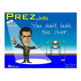 PREZ.info Briefkaart