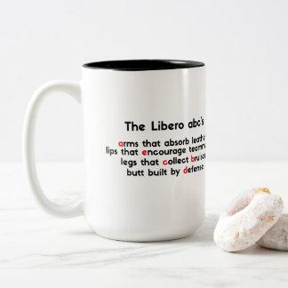 Prijs voor Beste Libero Abc' - het Salvo van de Tweekleurige Koffiemok