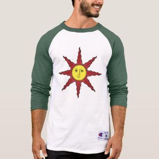 Prijs Zon 3/4 de T-shirt van het Sleeve