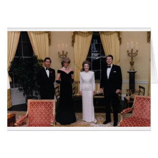 Prince_Charles, _Nancy_Reagan _Princess_Diana, Wenskaart