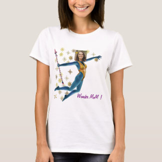Princess Fairy Wand, Blue - with YOUR Foto - T Shirt