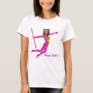 Princess Fairy Wand, Pink Fushia - with YOUR Pho T Shirt