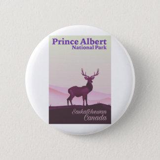 Prins Albert National Park, Saskatchewan, Canada Ronde Button 5,7 Cm