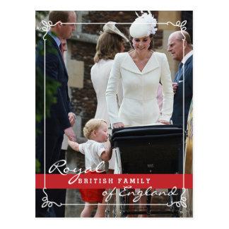 Prins George - de Koninklijke Familie van Kate Briefkaart