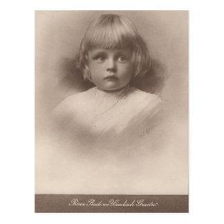 Prins Rudi - Habsburg/windisch-Graetz #042H Briefkaart