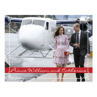 Prins William en Catherine Briefkaart