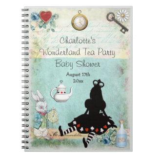 Prinses Alice in het Baby shower Guestbook van het Notitieboek