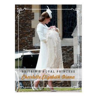 Prinses Charlotte Elizabeth Diana - Doopsel Briefkaart
