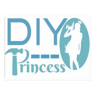 Prinses DIY Briefkaart