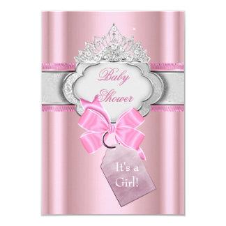 Prinses van de Tiara van het Meisje van het Baby 8,9x12,7 Uitnodiging Kaart