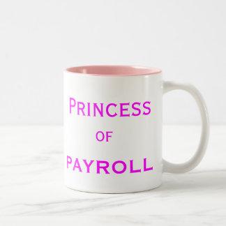 Prinses van de Titel van de Baan van de Manager Tweekleurige Koffiemok