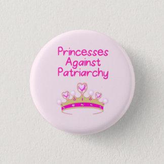 Prinsessen tegen Patriarchaat Ronde Button 3,2 Cm