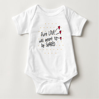 Print this! - Pure love was meant to be shared Romper