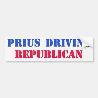 priusdrivingrepublican bumpersticker
