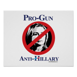 Pro-pistool anti-Hillary - AntiHillarypng.png Poster