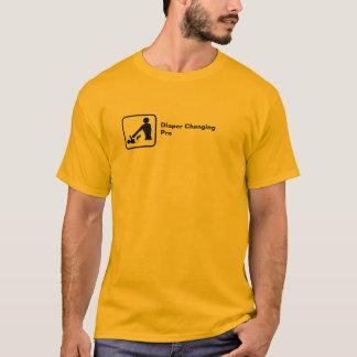 Pro Veranderen van de luier (klein logo) T Shirt