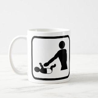 Pro Veranderen van de luier Koffiemok