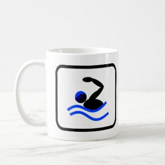 Pro zwemmen koffiemok