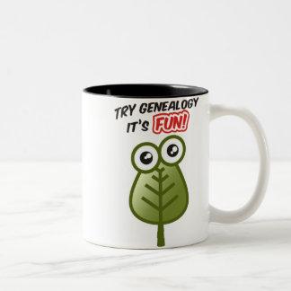 Probeer Genealogie Koffie Beker