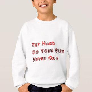 Probeer hard trui