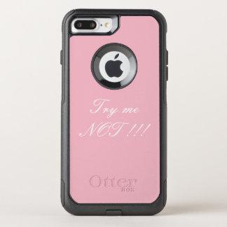 Probeer me niet telefoonaccessoire OtterBox commuter iPhone 7 plus hoesje