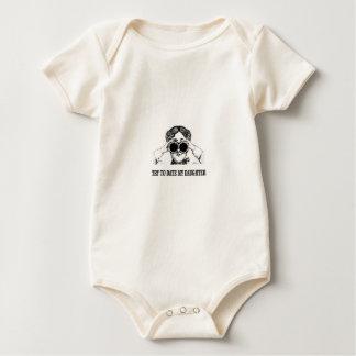 probeer tot op heden mijn dochter baby shirt