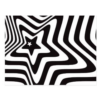 product met de zwart-witte vector van de briefkaart