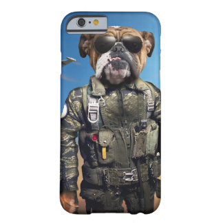 Proef hond, grappige buldog, buldog barely there iPhone 6 hoesje