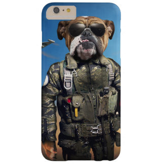 Proef hond, grappige buldog, buldog barely there iPhone 6 plus hoesje