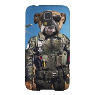 Proef hond, grappige buldog, buldog galaxy s5 hoesje