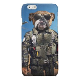 Proef hond, grappige buldog, buldog iPhone 6 hoesje glanzend
