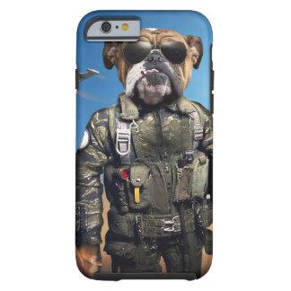 Proef hond, grappige buldog, buldog tough iPhone 6 hoesje