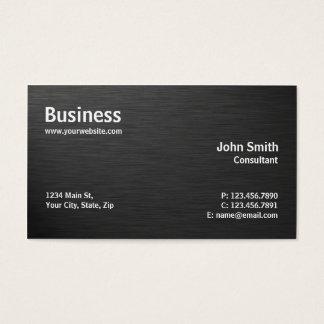Professioneel Elegant Modern Duidelijk Zwart Visitekaartjes