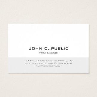 Professioneel Modern Minimalistisch Eenvoudig Visitekaartjes