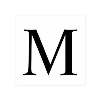 Professioneel Modern Monogram Rubberenstempel