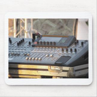 Professionele audio het mengen zich console muismat