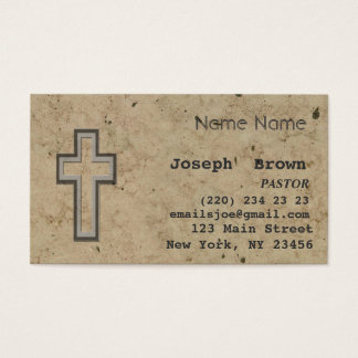 Professionele Christelijke DwarsJesus Religion Visitekaartjes