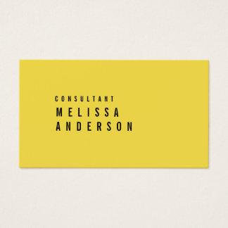 Professionele Elegante Moderne Minimalistische Visitekaartjes