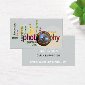 Professionele Fotografie Visitekaartjes