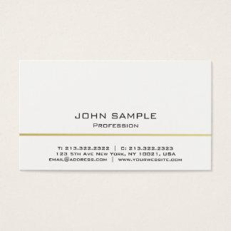 Professionele Moderne Wit van Minimalistic en Visitekaartjes